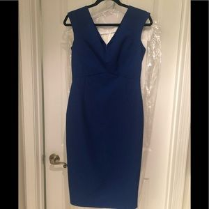 Cobaltish blue Zara Dress